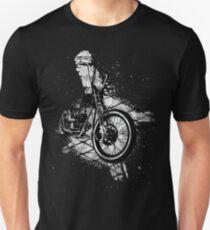 Old School Bobber Motorcycle Unisex T-Shirt