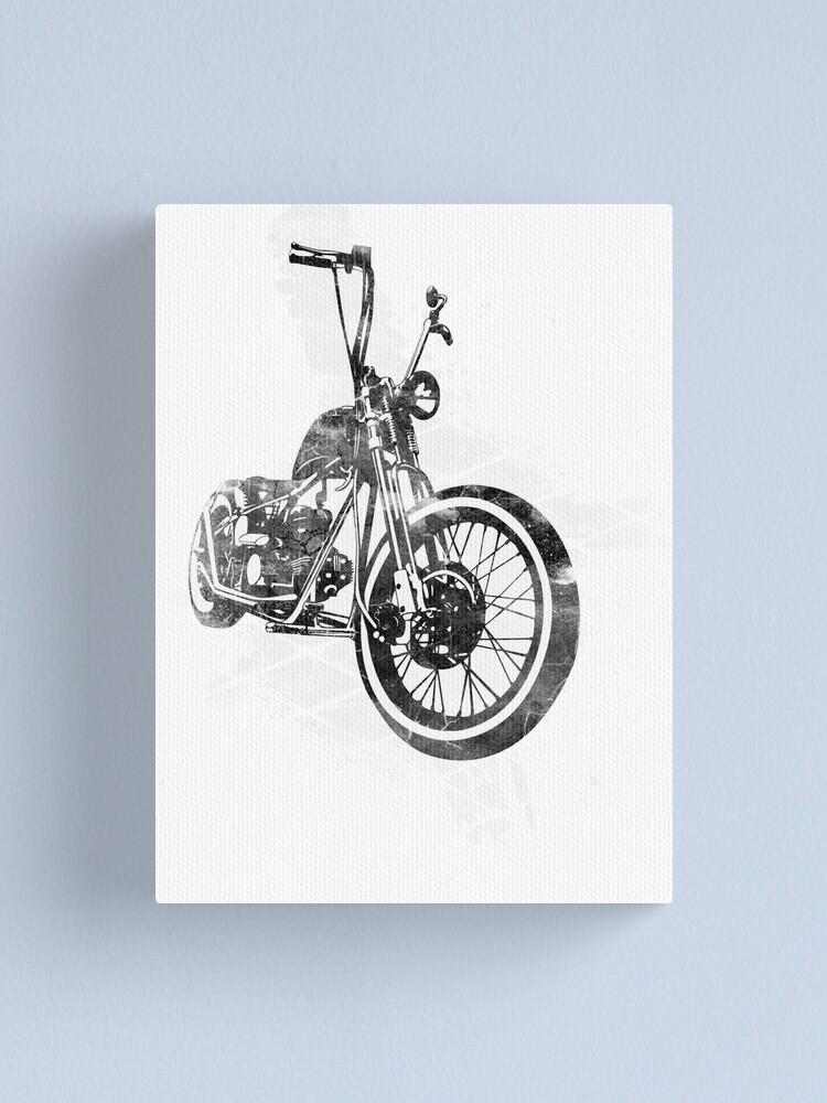 Chopper Bobber Mens Hoodie hoody Motorbike old school Triumph