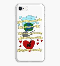 On the Cloud of Unknowing (Gorillaz) iPhone Case/Skin