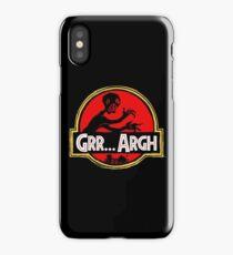 Grrassic Pargh iPhone Case/Skin