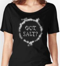 Supernatural Got Salt Gifts Women's Relaxed Fit T-Shirt