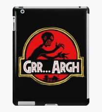 Grrassic Pargh iPad Case/Skin