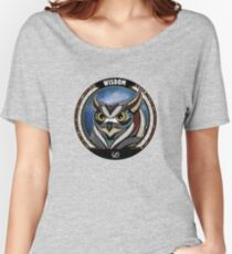 Tribal Owl Women's Relaxed Fit T-Shirt