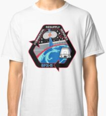 SpaceX SPX11, CRS-11 Patch Logo Classic T-Shirt