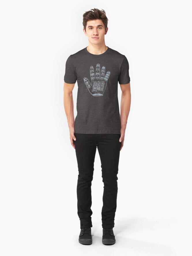 Alternate view of Guidonian Hand Slim Fit T-Shirt