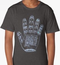 Guidonian Hand Long T-Shirt