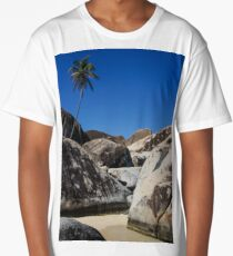 Boulders and Palm Trees Long T-Shirt