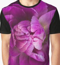 Peony macro Graphic T-Shirt