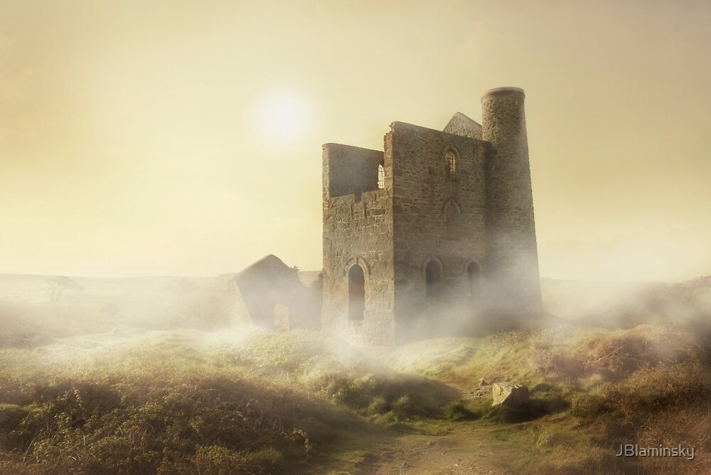 Foggy morning in Cornwall by JBlaminsky