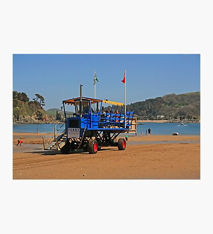 Sea Tractor Photographic Print