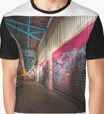 Illuminated   Abandoned Railway Station  Graphic T-Shirt