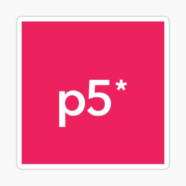 P5js Stickers Sticker