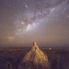 dampier creek termite mount milky way  by Elliot62