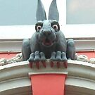 20 - KILLER RABBIT SCULPTURE NEAR ST. NICHOLAS CATHEDRAL - 2007 by BLYTHPHOTO