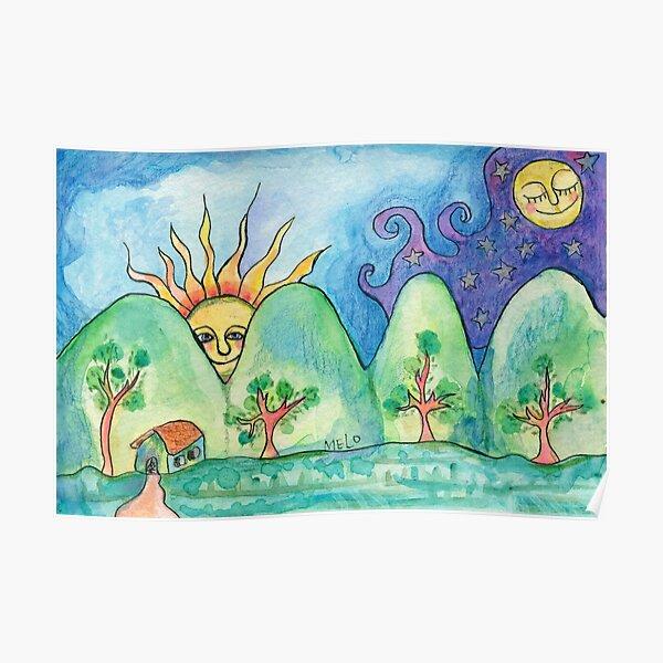 Whimsical World Poster