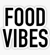 Good Vibes & Food Vibes Stickers Sticker