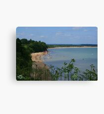 South Beach, Studland Canvas Print