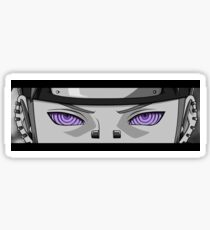 Nagato Pain Rinnegan black white from Naruto shippuden Sticker