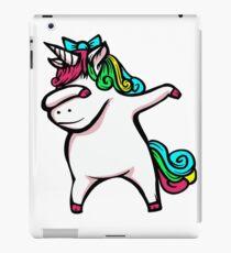 Dabbing Unicorn Girl iPad Case/Skin