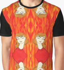 Fire Sign Graphic T-Shirt
