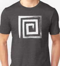 Spiral Square - Silver Edition Unisex T-Shirt
