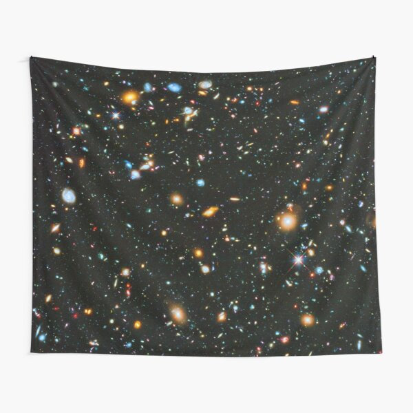 Hubble Extreme Deep Field Landscape Tapestry