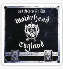 Classic Metal- No Sleep At All Sticker