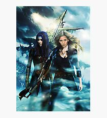 Buffy & Illyria Photographic Print