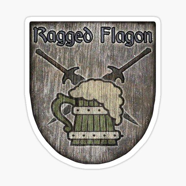 The Ragged Flagon Sticker