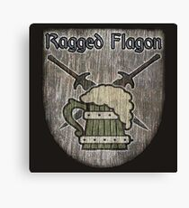 The Ragged Flagon Canvas Print