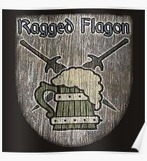 The Ragged Flagon Poster
