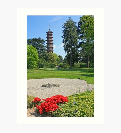 The Pagoda at Kew Art Print