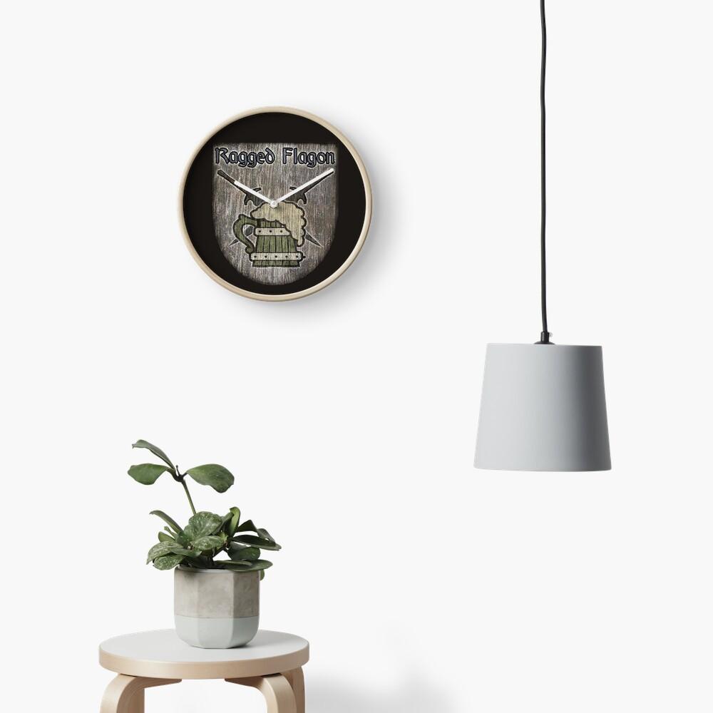 The Ragged Flagon Clock
