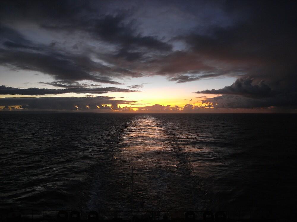Leaving Barbados by Alasdair