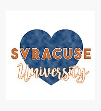 Syracuse University Photographic Print