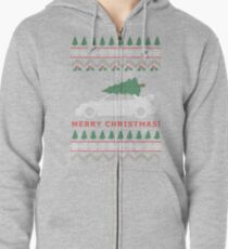 STI Ugly Christmas Sweater (2005) Zipped Hoodie