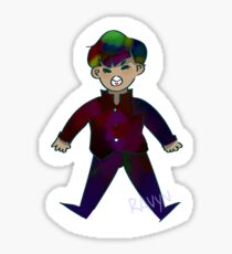 Mob is here and he is yelling Sticker