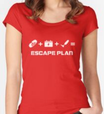 The Guardian's Escape Plan Women's Fitted Scoop T-Shirt