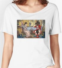 BEAUTY and The BEAST by Walter Crane 1874 Print Women's Relaxed Fit T-Shirt