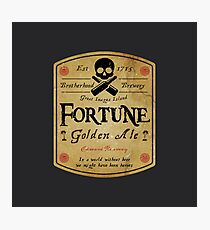 Assassin's Creed, Fortune beer label Photographic Print