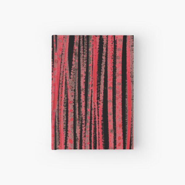 forest – red Hardcover Journal