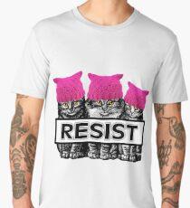 Pussies Resist Men's Premium T-Shirt