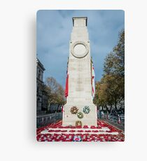 Cenotaph War Memorial, London, UK Canvas Print