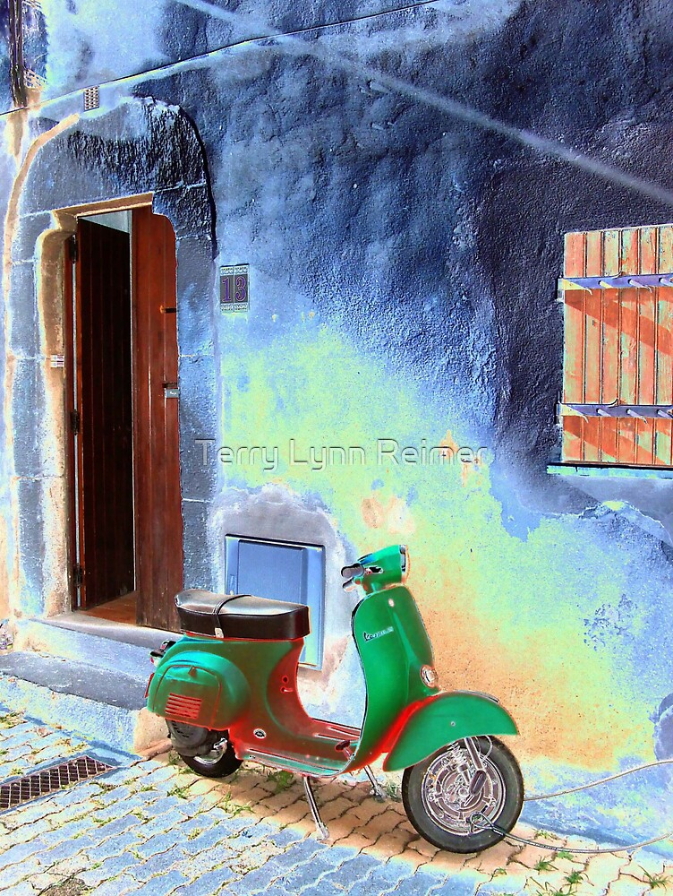 Solarized Scooter by Terry Lynn Reimer
