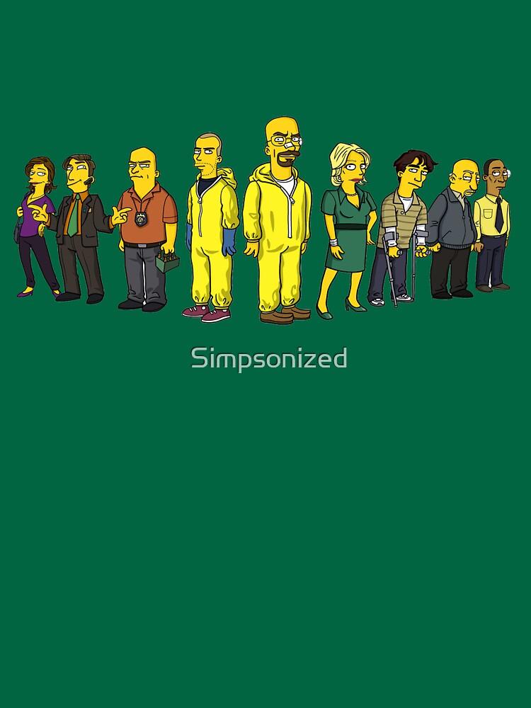 Breaking  Bad - Simpsons | Unisex T-Shirt