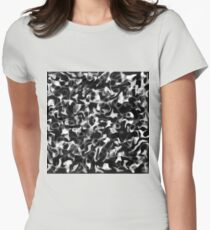 Abstract feathers and butterflies - bnw Womens Fitted T-Shirt
