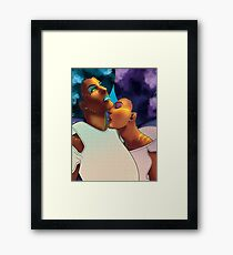 Sci-Fi Space Witches Framed Print