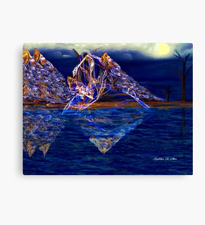Spirit Of The Mountain Canvas Print