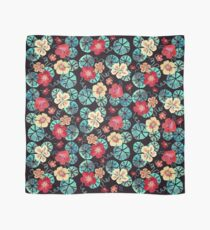 Watercolor Nasturtiums: In the Still of the Night Scarf