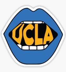 UCLA Lips Sticker
